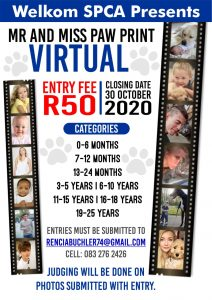 virtual Mr and Miss Paw Print